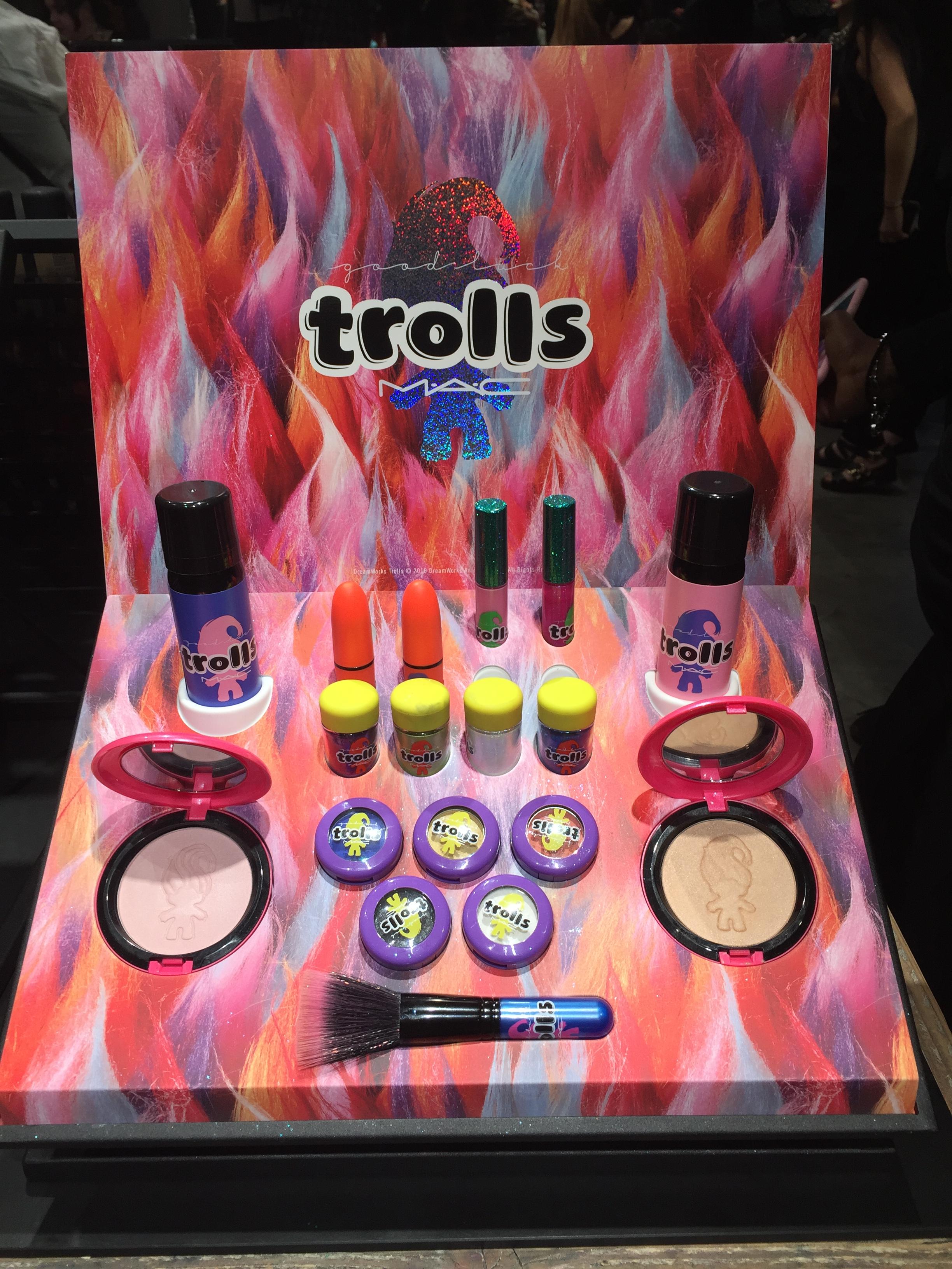 MAC Trolls Launch Party Carnaby Street