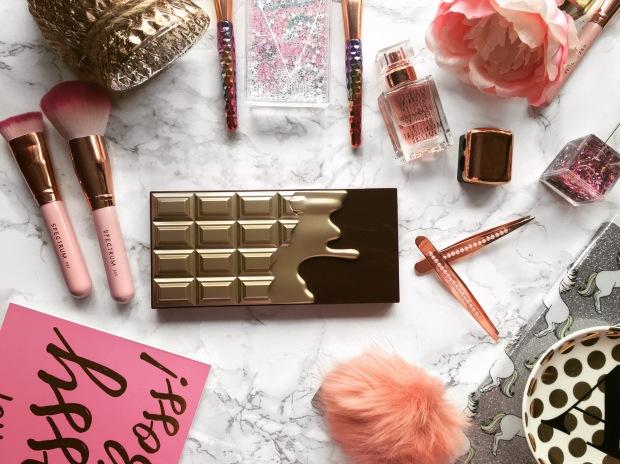 I Heart Makeup Golden Bar Eyeshadow Palette