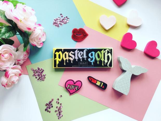 KVD Pastel Goth Flatlay