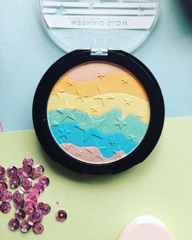 Lottie London Mermaid Glow Rainbow Highlighter