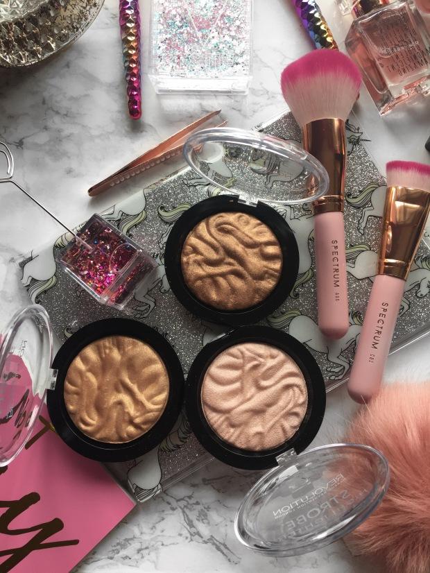 Makeup Revolution Strobe Highlighters
