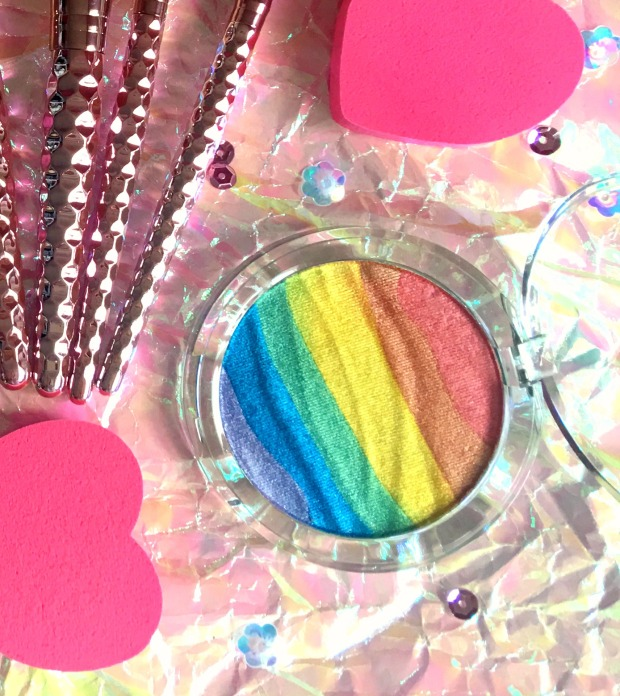 F21 Rainbow Highlighter