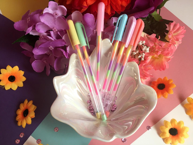 Rainbow Gel Pens