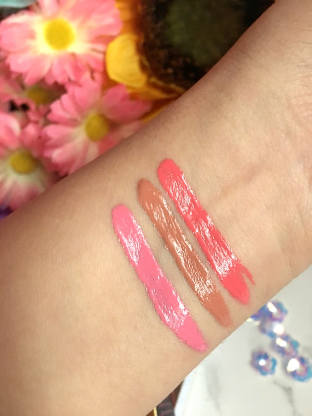 Too Faced Melted Latex Swatches